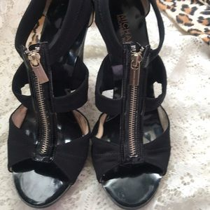 MICHAEL Michael Kors Shoes - MICHAEL KORS Berkley T-Strap Heels